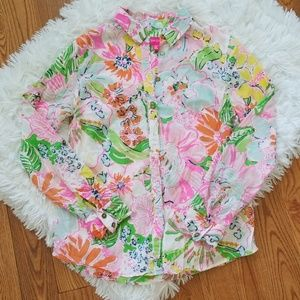 Lilly Pulitzer x Target Nosey Posey Blouse